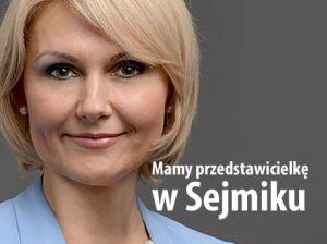Wioletta - Śląska Zyśk w sejmiku - posłuchaj wypowiedzi