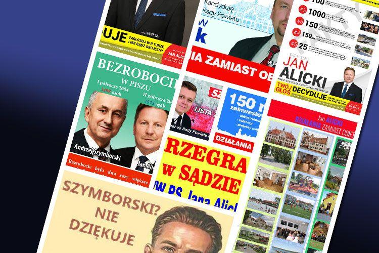 Zarzecki: Urzędowe drukarki wykorzystywano do celów kampanii wyborczej