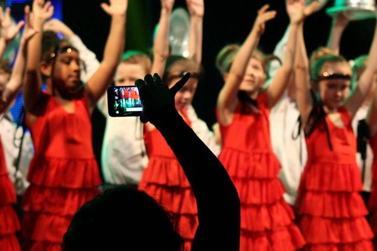 Zobaczyć swoje dziecko na scenie - bezcenne
