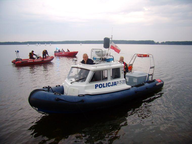 30-letni mieszkaniec Orzysza utonął w jeziorze Bełdany