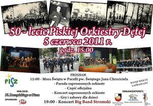 50-lecie Piskiej Orkiestry Dętej