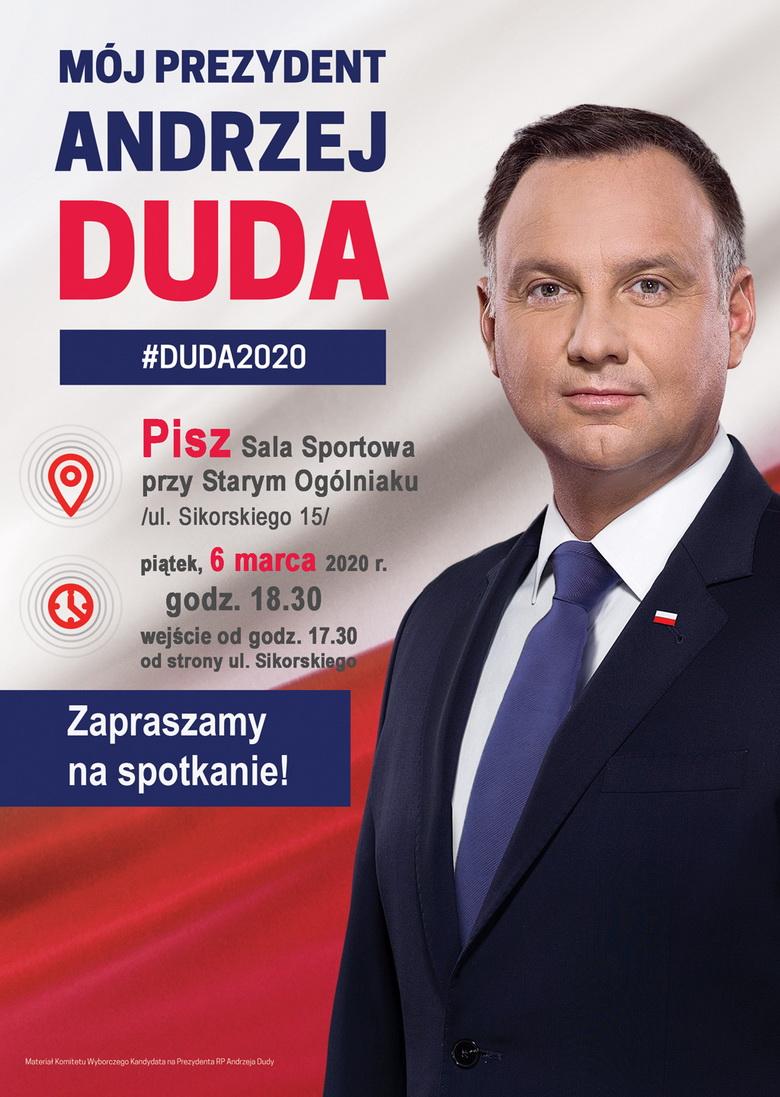 Prezydent Andrzej Duda odwiedzi Pisz - Fakty i Opinie ...